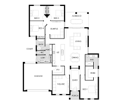 Pin by Abel Bleeker on House plan   Floor plans, 4 bedroom house plans,  House layouts