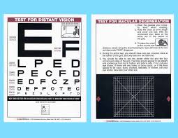 Eye Chart Test For Macular Degeneration Home Vision Ophthalmic Equipment And Instruments For The