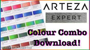 Prismacolor Pencil Chart Pdf Arteza Colored Pencil Combinations Free Download