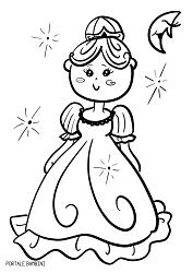 Disegni Di Principesse Da Colorare Portale Bambini
