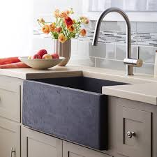 Farmhouse Apron Kitchen Sinks Farmhouse 3018 Nativestone Apron Front Kitchen Sink Native Trails
