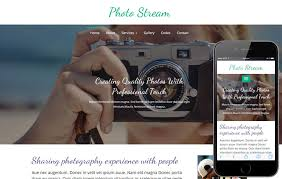 Free Photography Website Templates Extraordinary Photographer W28layouts