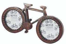 this lovely hand crafted photo frame in the shape of a bicycle makes a lovely present for any cyclist and is the perfect way to show off those