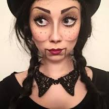 anxiety is tamed by trying new things with makeup today i tried ventriloquist doll makeup