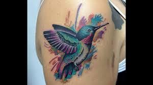 татуировка колибри значение для девушек и парней фото тату с калибри