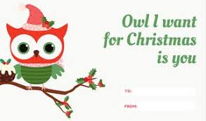 Christmas Tag Template Customize 54 Christmas Tag Templates Online Canva