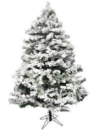 Flocked Christmas Tree Flocked Antarctic Pine Christmas Tree 183m Christmas Trees