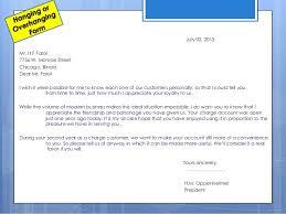 Modern Business Letter