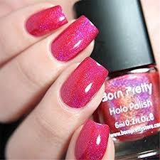 <b>Born Pretty 1 Bottle</b> 6ml Holographic Glitter Holo Nail Varnish Polish ...