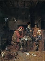 The Marriage Contract Painting Joos Van Craesbeeck Oil Paintings