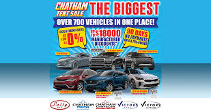 Chatham Kents Biggest Auto Sale Is Back Victory Ford