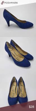 American Rag] Felix Summer Blue Faux Suede Pumps | Suede pumps, Gorgeous  heels, Faux suede