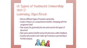 Business Ownership Types U1 Ass 1 Types Of Business Ownership By Dpender Jones On Prezi