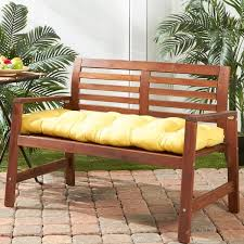 51 inch Outdoor Sunbeam Bench Cushion Free Shipping Today