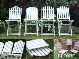 The Leahs Professional Garden Furniture Regarding White Wooden
