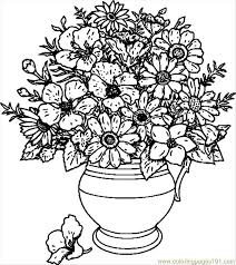Small Picture Free Coloring Pages Flowers FunyColoring