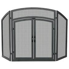 heatilator gas fireplace screen replacement screens doors wrought iron outdoor fire pit repair