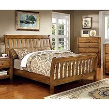 rustic wood bed frame. Wonderful Frame Conrad Country Style Rustic Oak Queen Size Bed And Wood Frame I