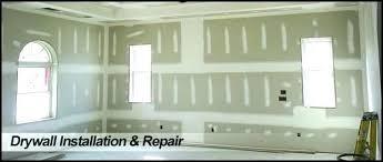 hang and finish drywall per sheet