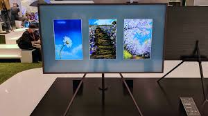 samsung frame wants to blend its tv into your home through the power of art alphr