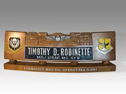 military desk name plates plate