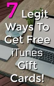 7 ways to get free itunes gift card codes