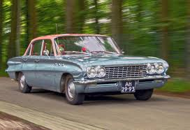 1961 Buick Special 4-Door Sedan 3.5L Alloy V8 OHV 155bhp Engine ...