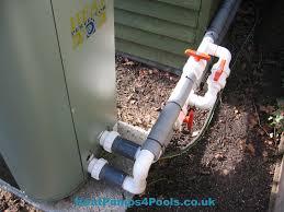 installation tips heatpumps4pools heat perfector installation in essex uk heat perfector plumbing arrangement example