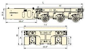 spmt self propelled modular transporter enerpac hpu 75 hp power pack diesel hpu is separately