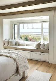 bay window designs for homes. Bay Window Ideas Bedroom Gorgeous Beach House In With Barn Like Details Seats Designs For Homes R