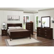 The best bedroom furniture Master Bedroom Louis Philippe Warm Brown 4piece Bedroom Set Overstock Buy Brown Bedroom Sets Online At Overstockcom Our Best Bedroom