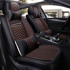 lcrtds universal leather car seat cover