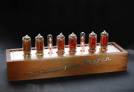 ... case for nixie tubes clock in-18 divergence meter gra & afch