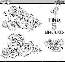 Vettoriale Bianco E Nero Fumetto Illustrazione Di Trovare