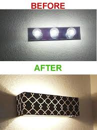 a shade to cover your oldfashioned vanity lights 23 things you didnu0027t know needed for your bathroom bathroom light covers33