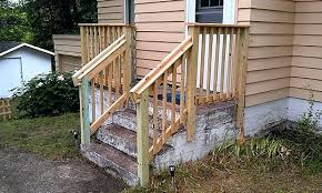 wood railing for outside steps fantastic wood outdoor stairs design stair railing inside exterior railings prepare indoor wooden stair railing kits wood