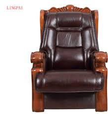 custom made office chairs. Perfect Made New Modern Cowhide Office Chair Solid Wood Armrest Boss Custommade  In Custom Made Office Chairs