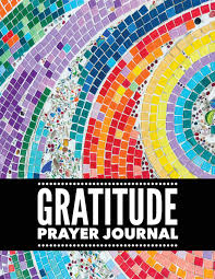 Mosaic Design Gratitude Prayer Journal Colorful Mosaic Design Prayer
