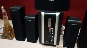 Loa vi tính cũ , Máy dàn nội địa , Máy Cassette - Dàn loa vi tính SOUNDMAX  B30 5.1 Tình trạng còn rất tốt Giá bán. 900 000đ ( bao test