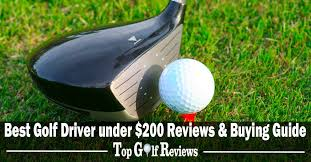 the 10 best golf drivers under 200 in