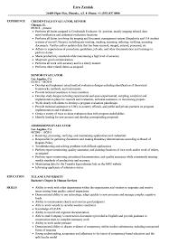 Evaluator Resume Samples Velvet Jobs