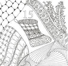 Anti Stress Kleurplaten Advent Kalender 15 December 19