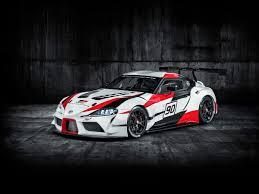 Toyota Supra GR Racing Concept Bows   Kelley Blue Book