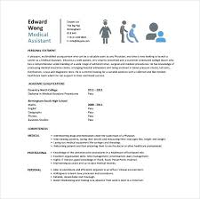 Medical Assistant Resume Example Mesmerizing Example Medical Assistant Resume Template 48 Free Word Excel Format