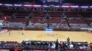 Schottenstein Center Section 106 Ohio State Basketball