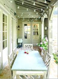 how to hang string lights on covered patio mordencharmcom