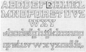 Design Grid Lettering Just Something I Made Word