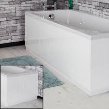 white bath panels