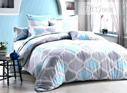 blue and white duvet cover double set grey single chevron bedding bedrooms alluring bed spread awesome