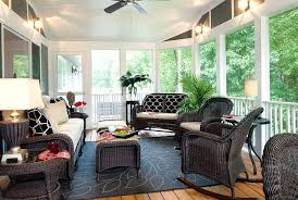 Screened In Porch Decorating Ideas Gorgeous Screened In Patio